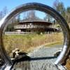 Bull Ring Trailhead Sculpture